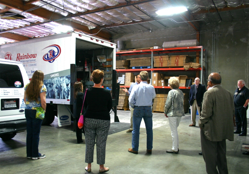 MJ12 Warehouse Tour