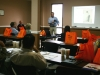 CE Class Attendees in classroom learning